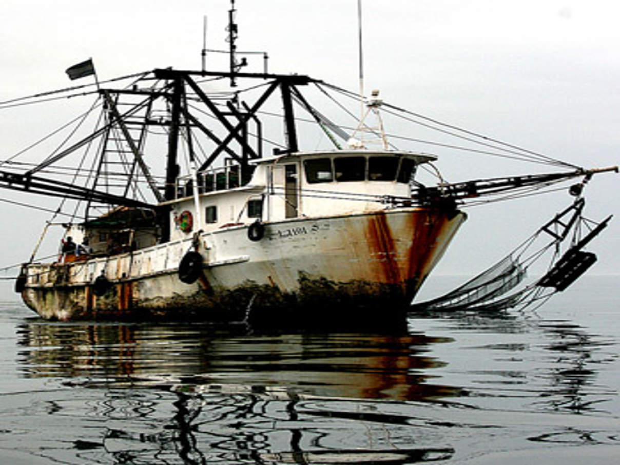 Illegaler Trawler © Mike Markovinathe / Pew Charitable Trusts