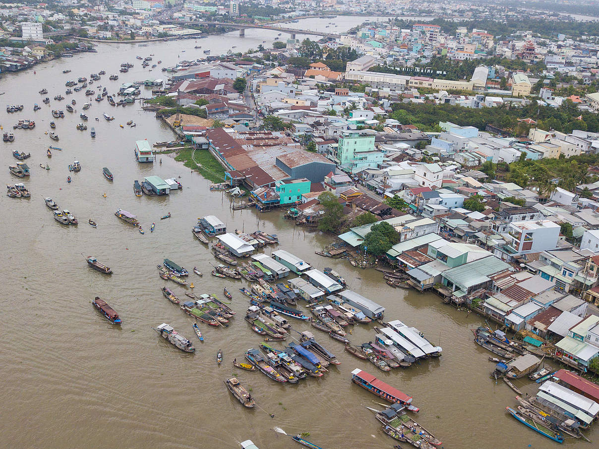 Boote auf dem Mekong Fluss in Vietnam © GettyImages