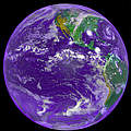 Satellitenbild der Erde © NASA