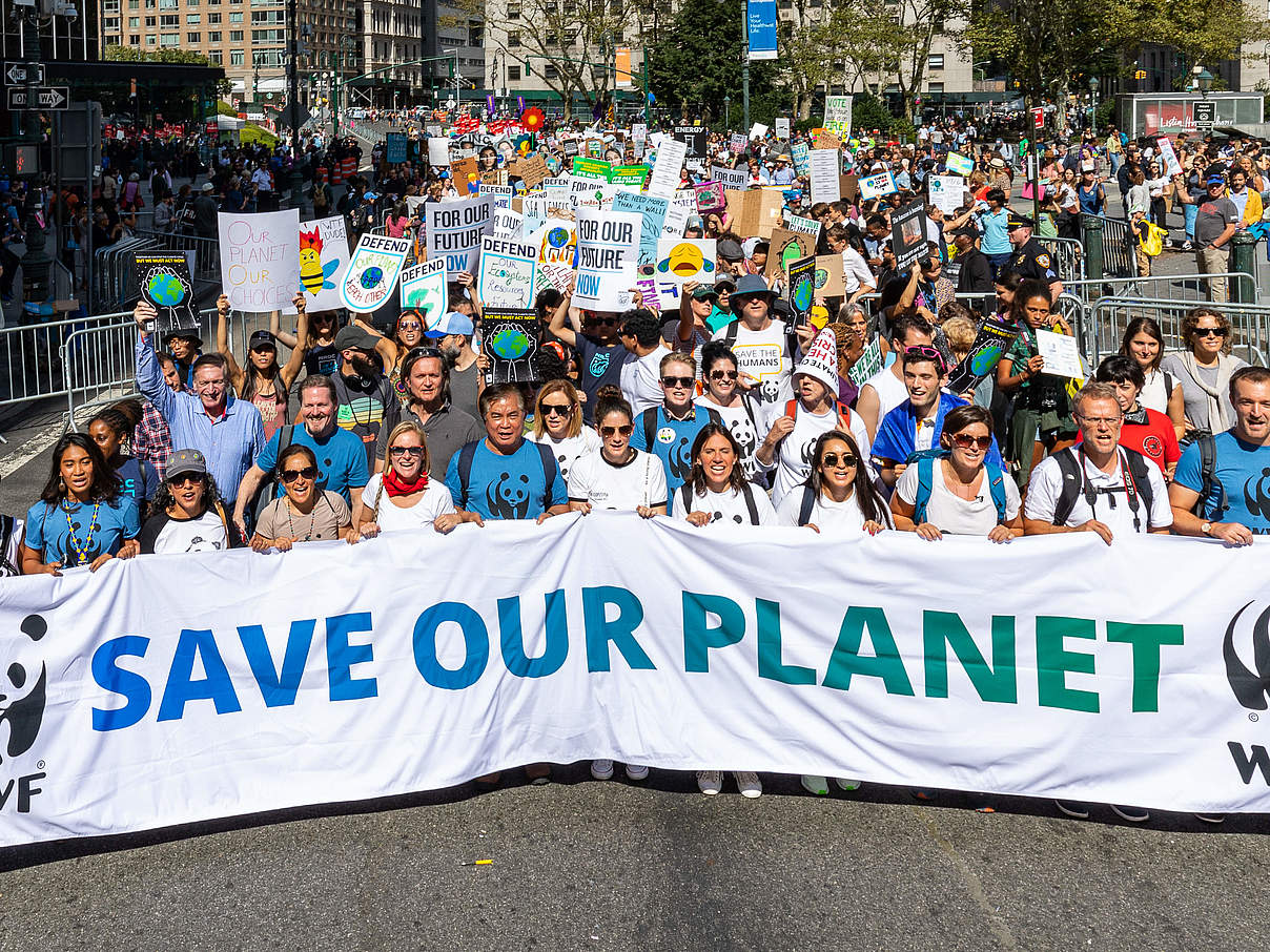Climate March in New York © WWF-US / Keith Arnold