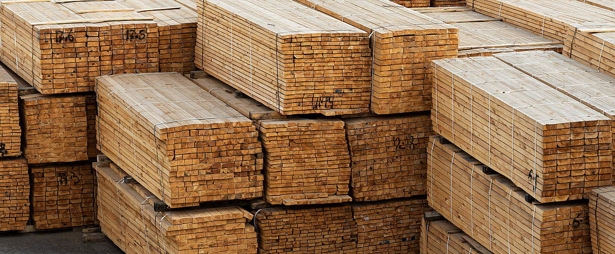 Holzlagerung © Kotenko-A / iStock / Getty Images Plus