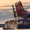 Containerhafen Hamburg © iStock / Getty Images