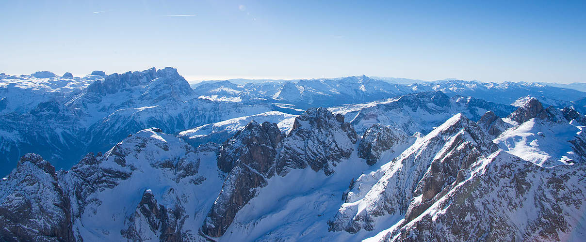Winter in den Dolomiten © Ralph Frank / WWF